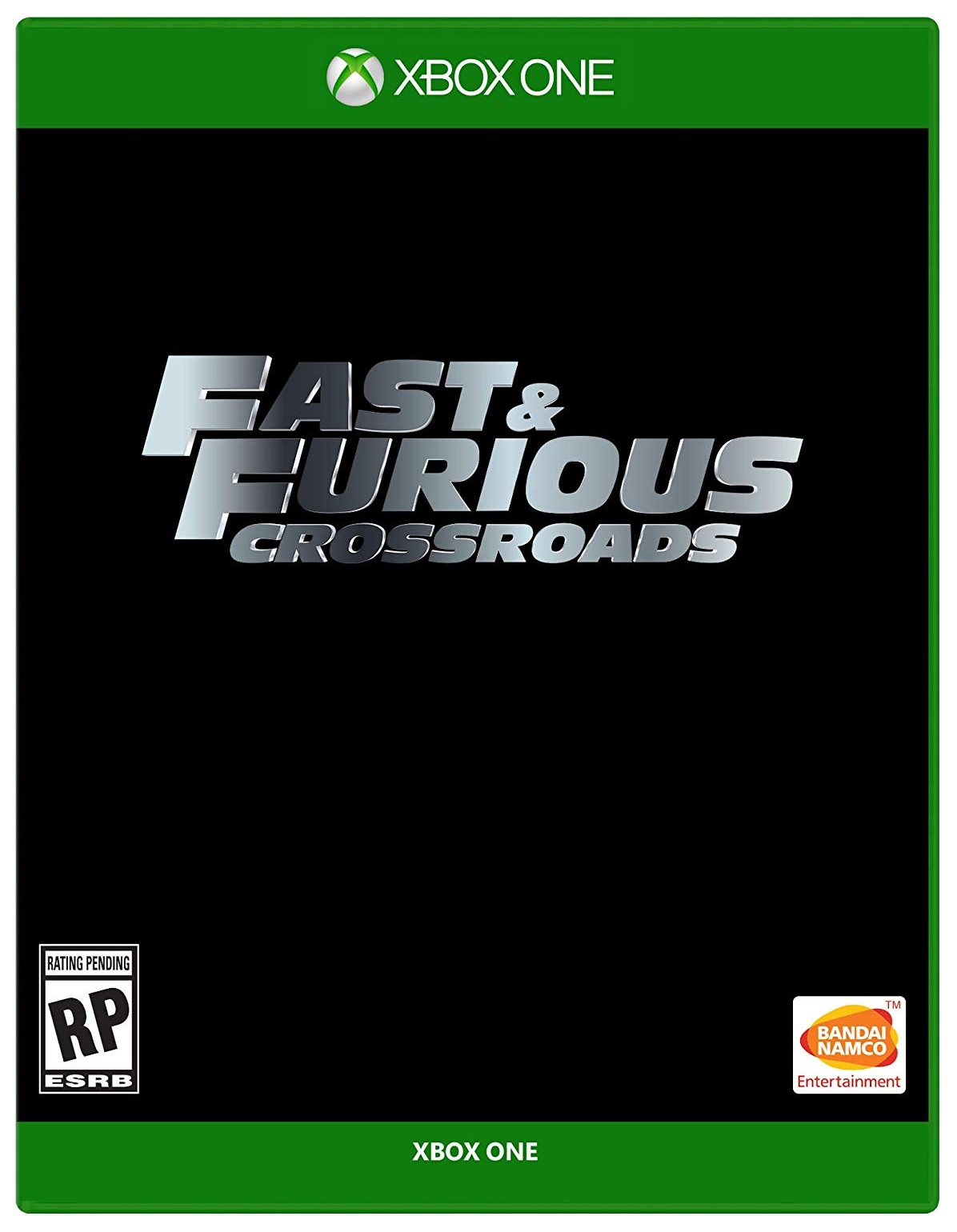 Bandai Fast And Furious Crossroads Xbox One Game