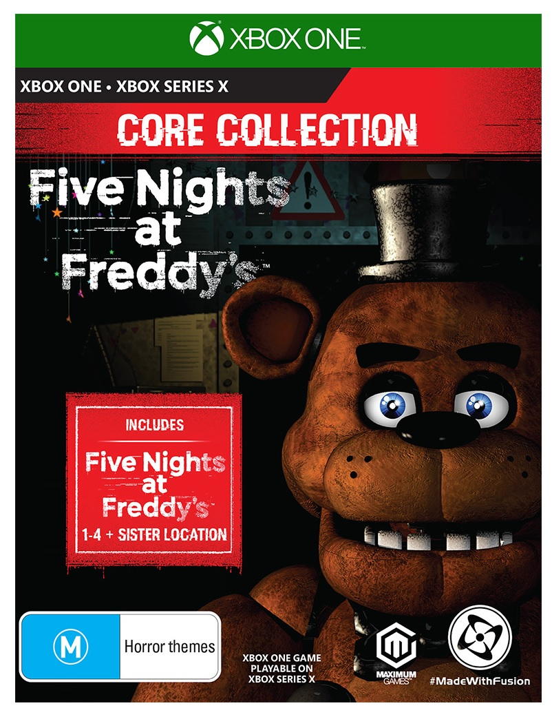 Lionsgate Five Nights At Freddys Core Collection Xbox Series X Game
