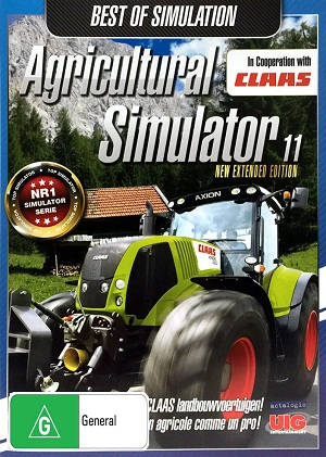 Focus Home Interactive Agricultural Simulator 11 New Extended Edition PC Game