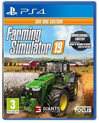 Focus Home Interactive Farming Simulator 19 Day One Edition PS4 Playstation 4 Game