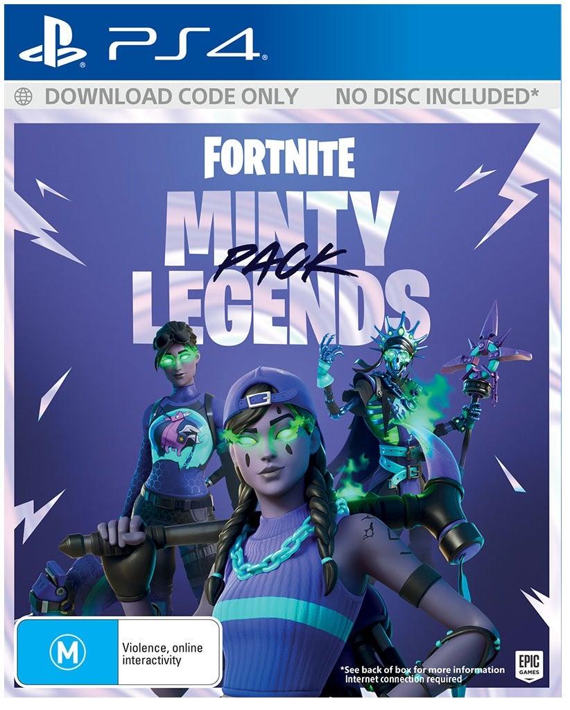 Epic Fortnite Minty Legends Pack PS4 Playstation 4 Game