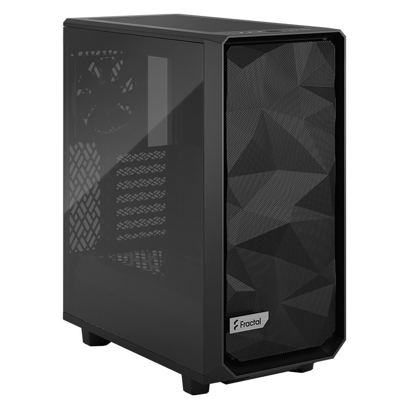Fractal Design Meshify 2 Compact TG Mid Tower Computer Case