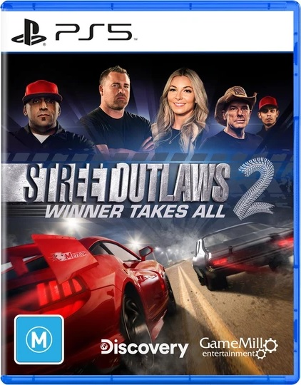 GameMill Entertainment Street Outlaws 2 Winner Takes All PS5 PlayStation 5 Game
