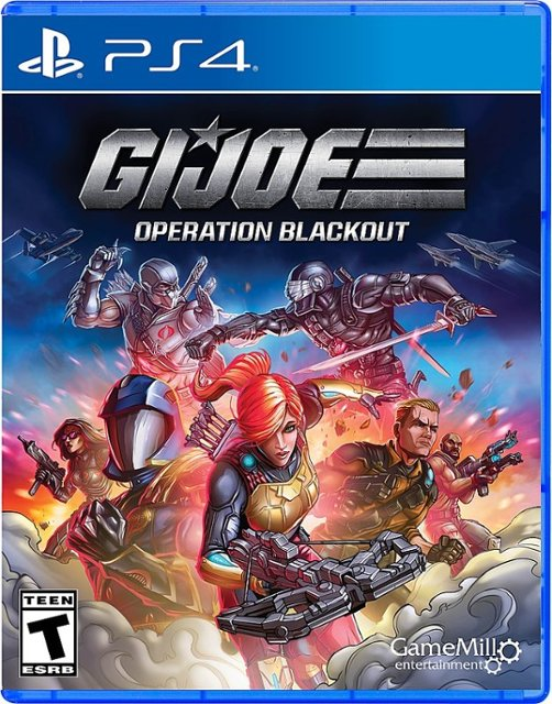 GameMill Entertainment G I Joe Operation Blackout PS4 Playstation 4 Game