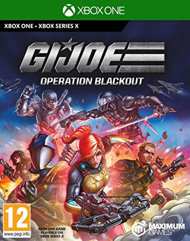 GameMill Entertainment G I Joe Operation Blackout Xbox One Game