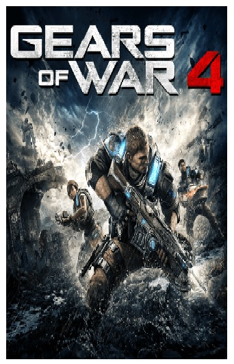 Microsoft Gears Of War 4 Xbox Series X Game