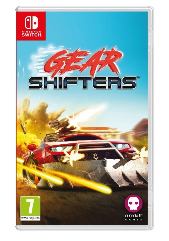 Numskull Games Gearshifters Nintendo Switch Game