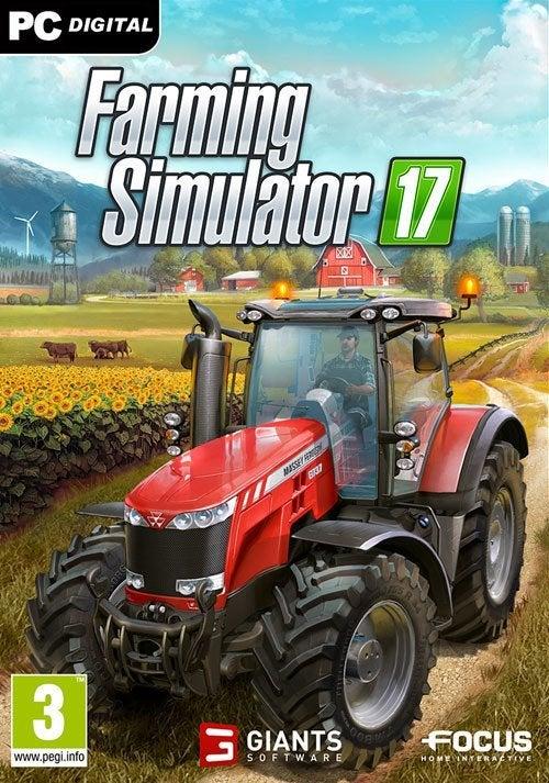 Giants Software Farming Simulator 17 PC Game