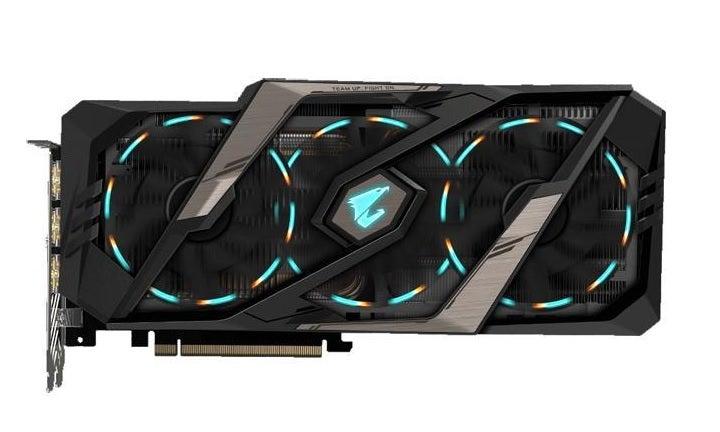 Gigabyte Aorus GeForce RTX 2080 Super Graphics Card