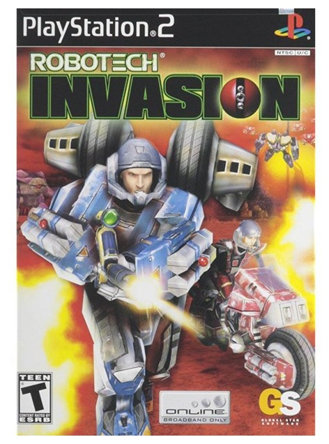 Global Star Robotech Invasion PS2 Playstation 2 Game