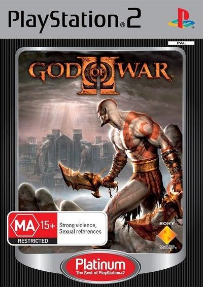 Sony God Of War 2 Platinum Refurbished PS2 Playstation 2 Game