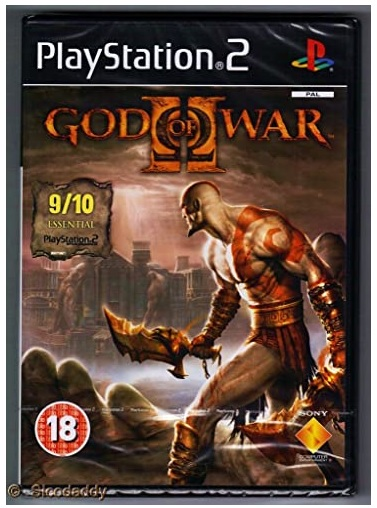 Sony God Of War 2 Refurbished PS2 Playstation 2 Game