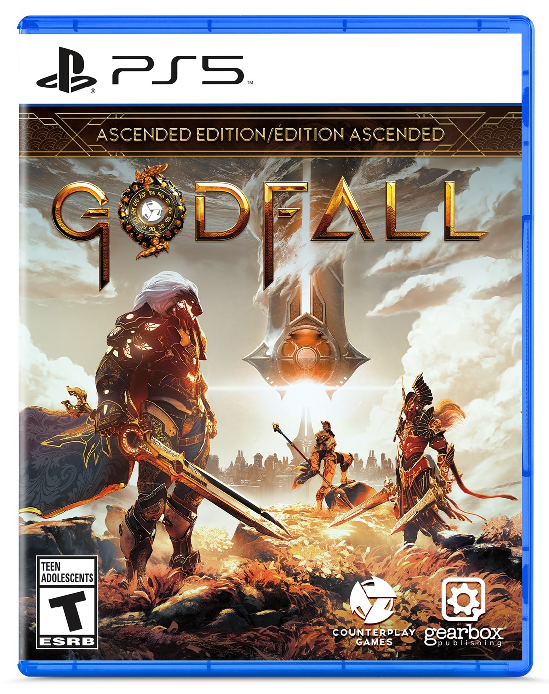 Gearbox Software Godfall Ascended Edition PS5 Playstation 5 Game