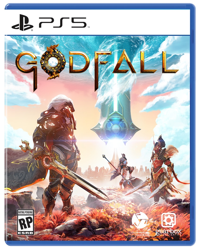 Gearbox Software Godfall PS5 Playstation 5 Game