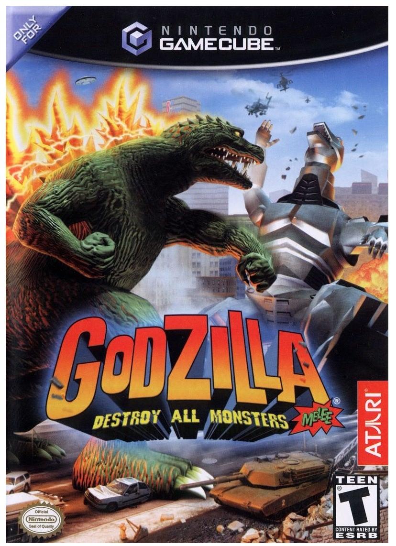 Atari Godzilla Destroy All Monsters Melee GameCube Game