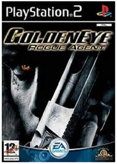 Electronic Arts Golden eye Rogue Agent PS2 Playstation 2 Game