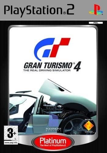 Sony Gran Turismo 4 Platinum Refurbished PS2 Playstation 2 Game