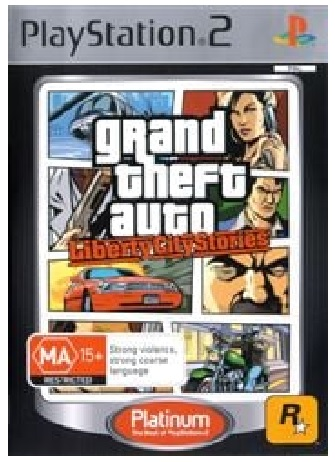 Rockstar Grand Theft Auto Liberty City Stories Refurbished PS2 Playstation 2 Game
