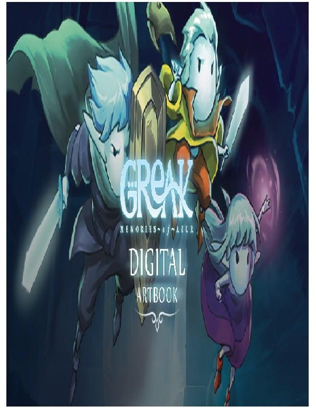 Team17 Software Greak Memories Of Azur Digital Artbook PC Game