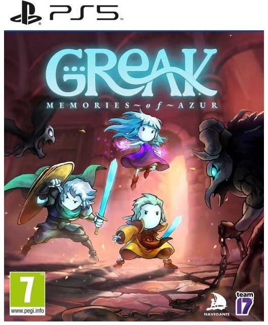 Team17 Software Greak Memories Of Azur PS5 PlayStation 5 Game