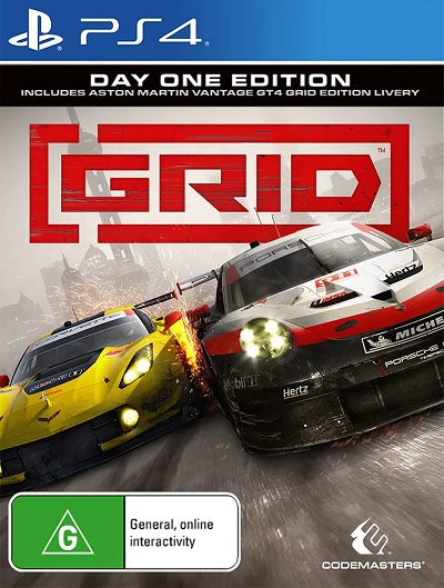 Codemasters Grid Day One Edition Refurbished PS4 Playstation 4 Game