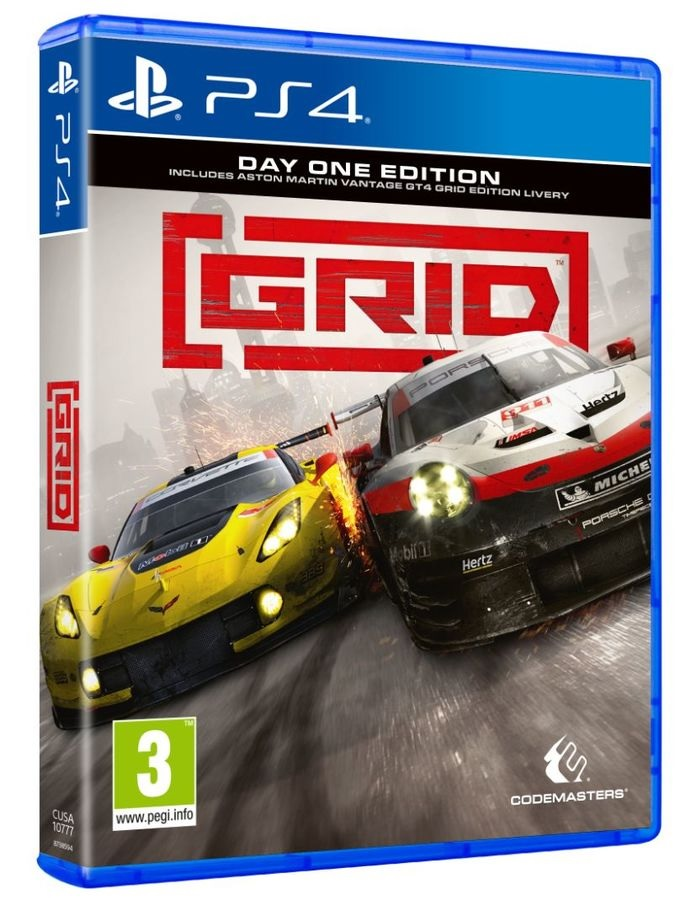 Codemasters Grid Day One Edition PS4 Playstation 4 Game