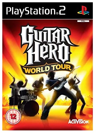 Activision Guitar Hero World Tour Solus PS2 Playstation 2 Game