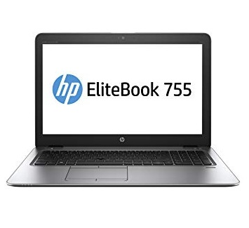 HP Elitebook 755 G4 15 inch Laptop