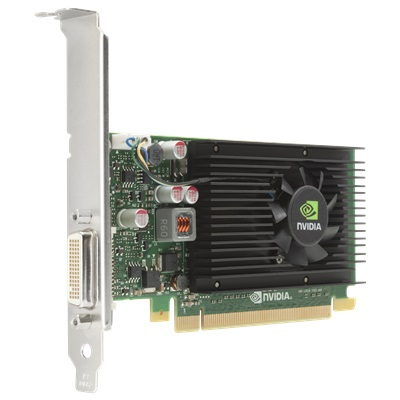 HP NVIDIA NVS 315 E1C65AA 1GB Graphics Card