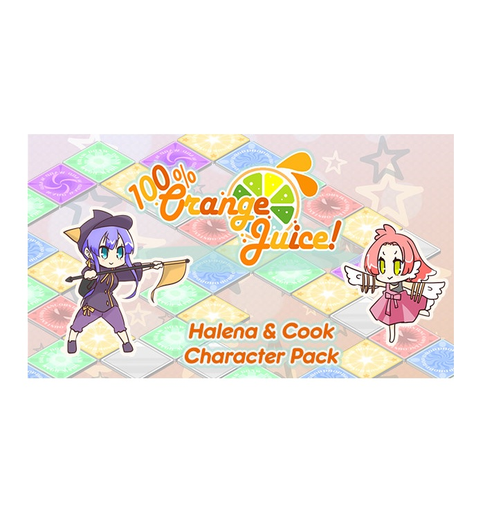 Fruitbat Factory 100 Percentage Orange Juice Halena And Cook Character Pack PC Game