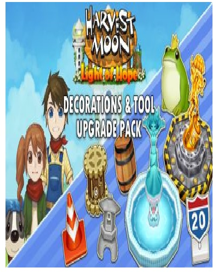 Natsume Harvest Moon Light Of Hope Special Edition Decorations And Tool Upgrade Pack PC Game