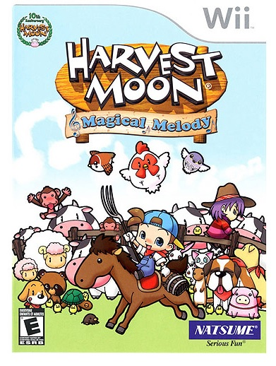 Marvelous Harvest Moon Magical Melody Refurbished Nintendo Wii Game
