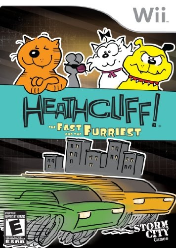 Storm City Games Heathcliff The Fast And The Furriest Nintendo Wii Game