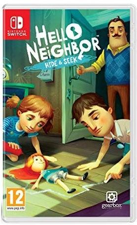 Build Your Block Hello Neighbor Hide and Seek Nintendo Switch Game