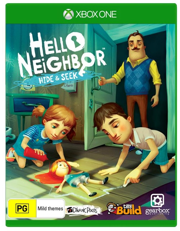 Build Your Block Hello Neighbor Hide and Seek Xbox One Game