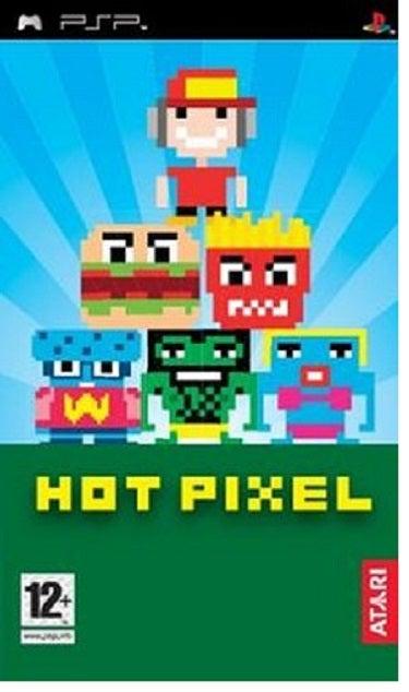 Atari Hot Pixel PSP Game