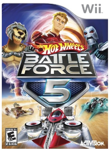 Activision Hot Wheels Battle Force 5 Nintendo Wii Game
