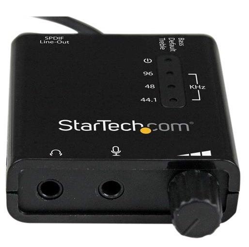 Startech ICUSBAUDIO2D Sound Card