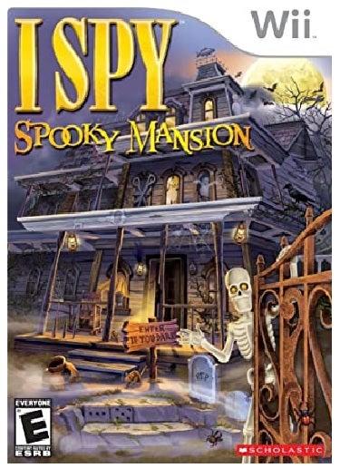 Scholastic Inc I Spy Spooky Mansion Nintendo Wii Game
