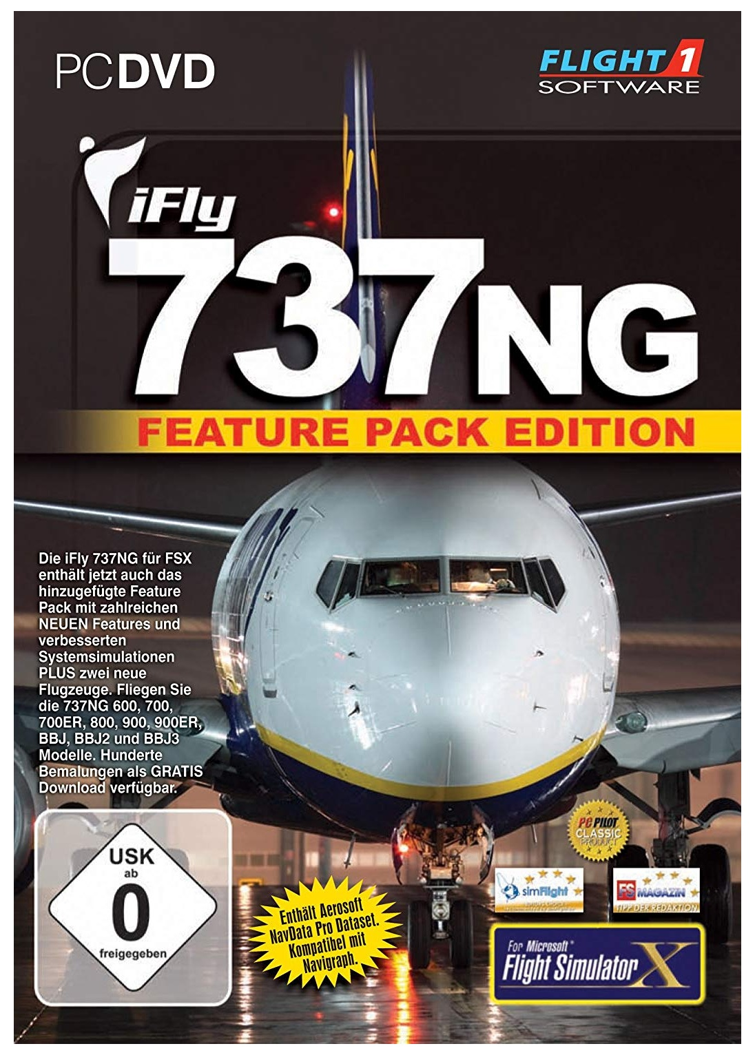 Microsoft Ifly 737NG Feature Pack Edition PC Game