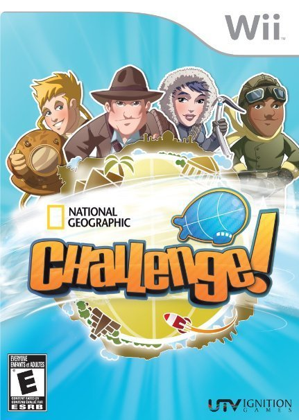 Ignition National Geographic Challenge Nintendo Wii Game