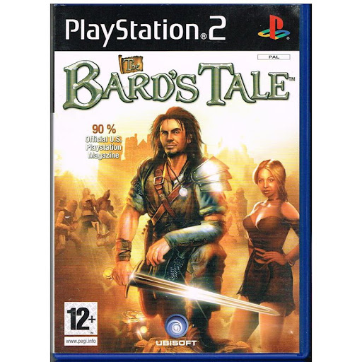 InXile Entertainment The Bards Tale PS2 Playstation 2 Game