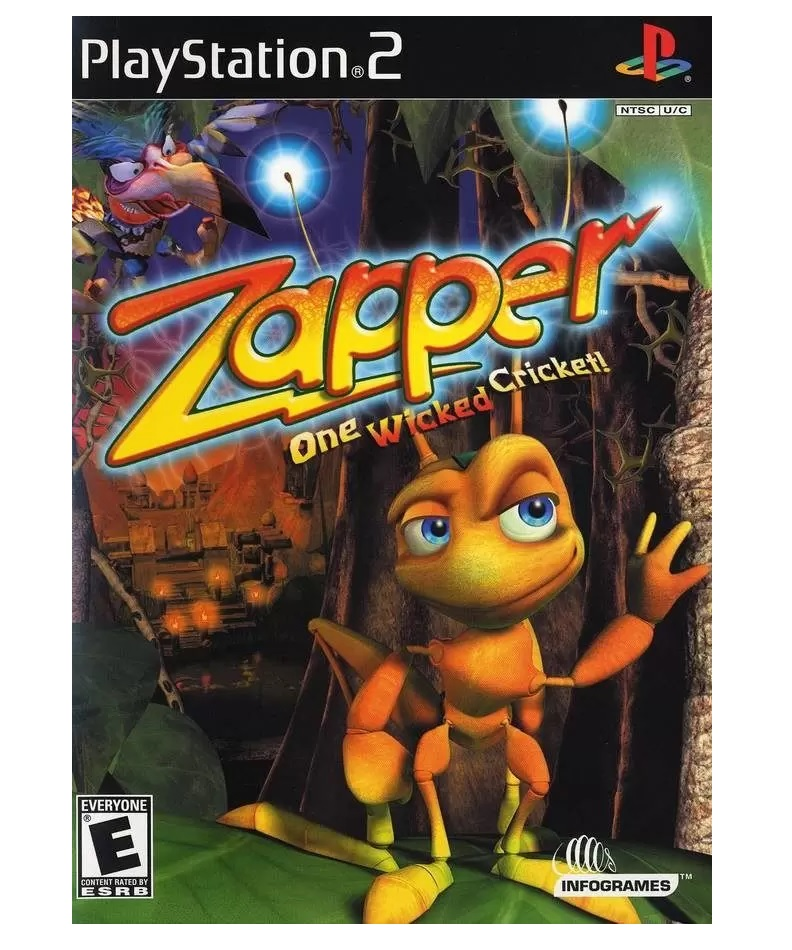 Infogrames Zapper One Wicked Cricket Refurbished PS2 Playstation 2 Game