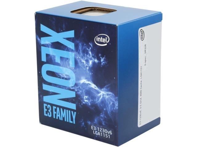 Intel Xeon E3 1230 v6 3.5GHz Processor