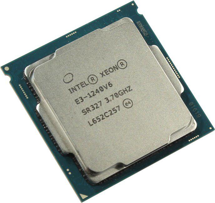 Intel Xeon E3 1240 v6 3.7GHz Processor