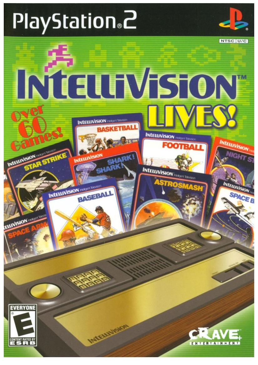 Crave Entertainment Intellivision Lives Refurbished PS2 Playstation 2 Game