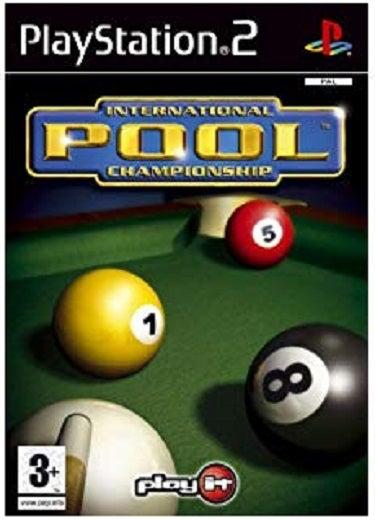 Play It International Pool Championship PS2 Playstation 2 Game