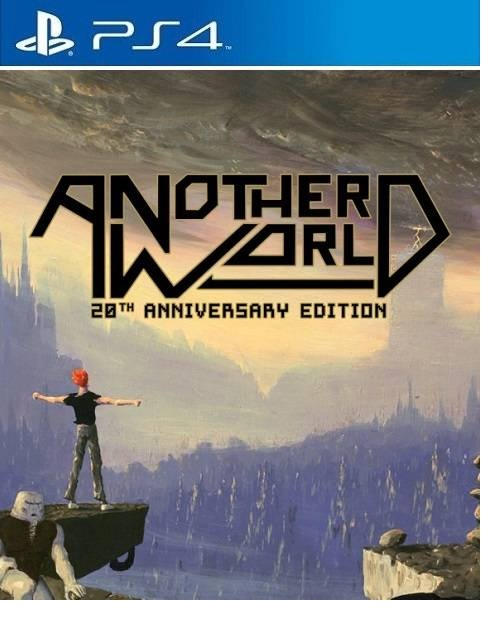 Interplay Another World 20th Anniversary Edition PS4 Playstation 4 Game