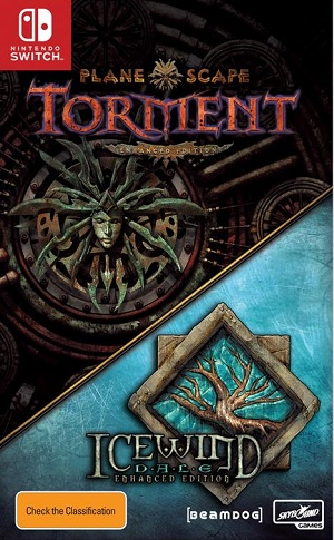 Interplay Planescape Torment And Icewind Dale Enhanced Edition Nintendo Switch Game
