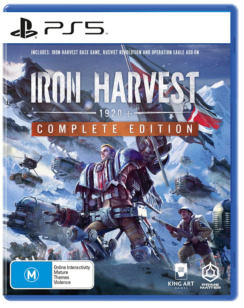 Deep Silver Iron Harvest Complete Edition PS5 PlayStation 5 Game